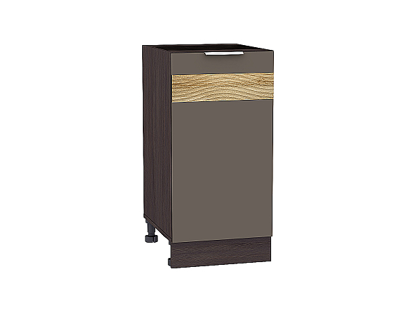 Шкаф нижний Терра Н400 D (Смоки софт)