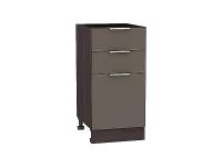 Шкаф нижний Терра Н403 (Смоки софт)