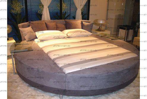 Кровать круглая Амстердам 1074 (б/о)