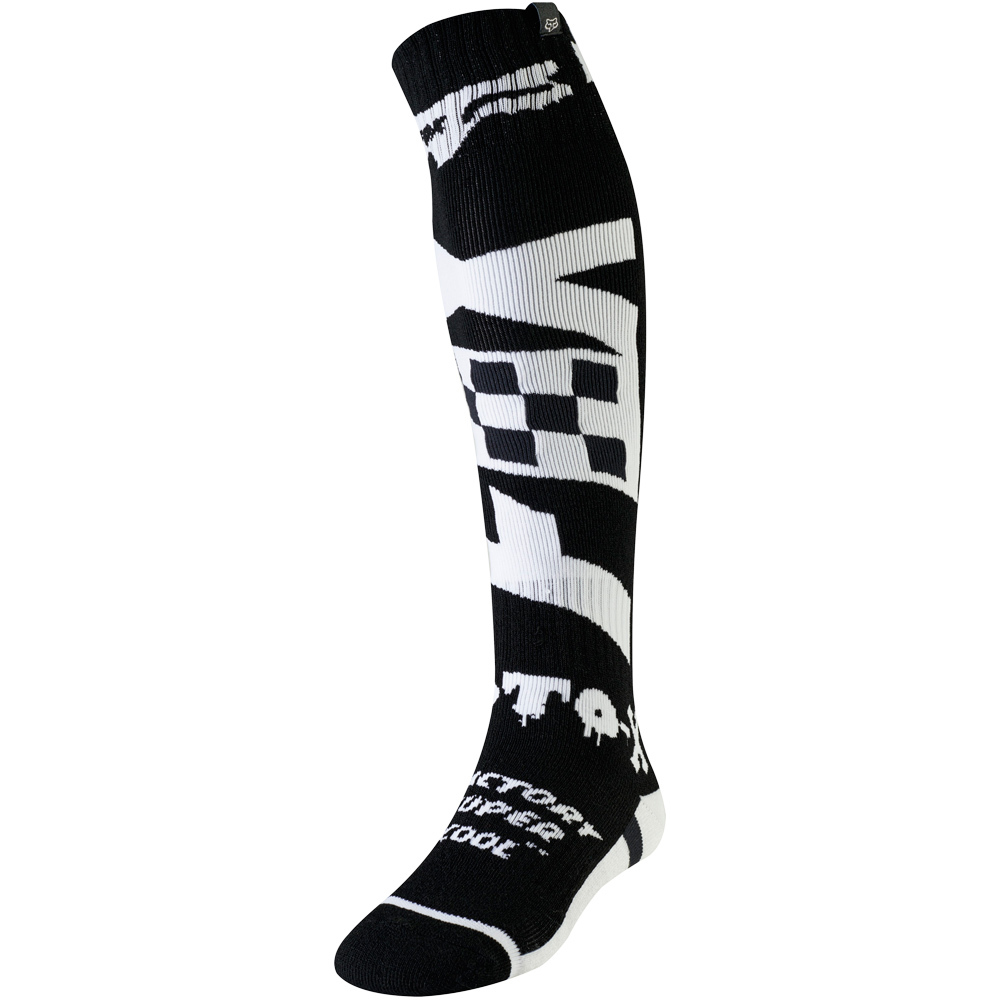 Fox - FRI Czar Thin Sock Black/White носки, черно-белые