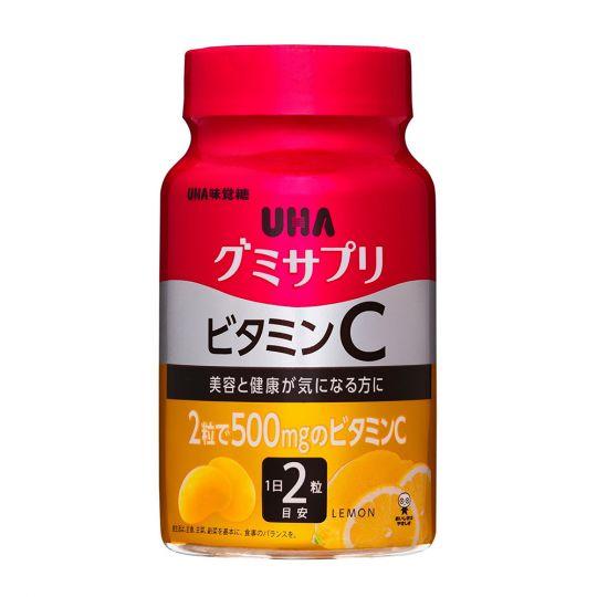 UHA Витамин С со вкусом Лимона, 30 дней