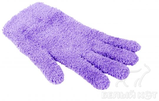 Универсальная перчатка Nano Sliced лиловая 21 х 12 см