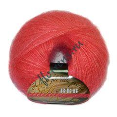 Пряжа BBB Soft Dream / 8731 яркий коралл