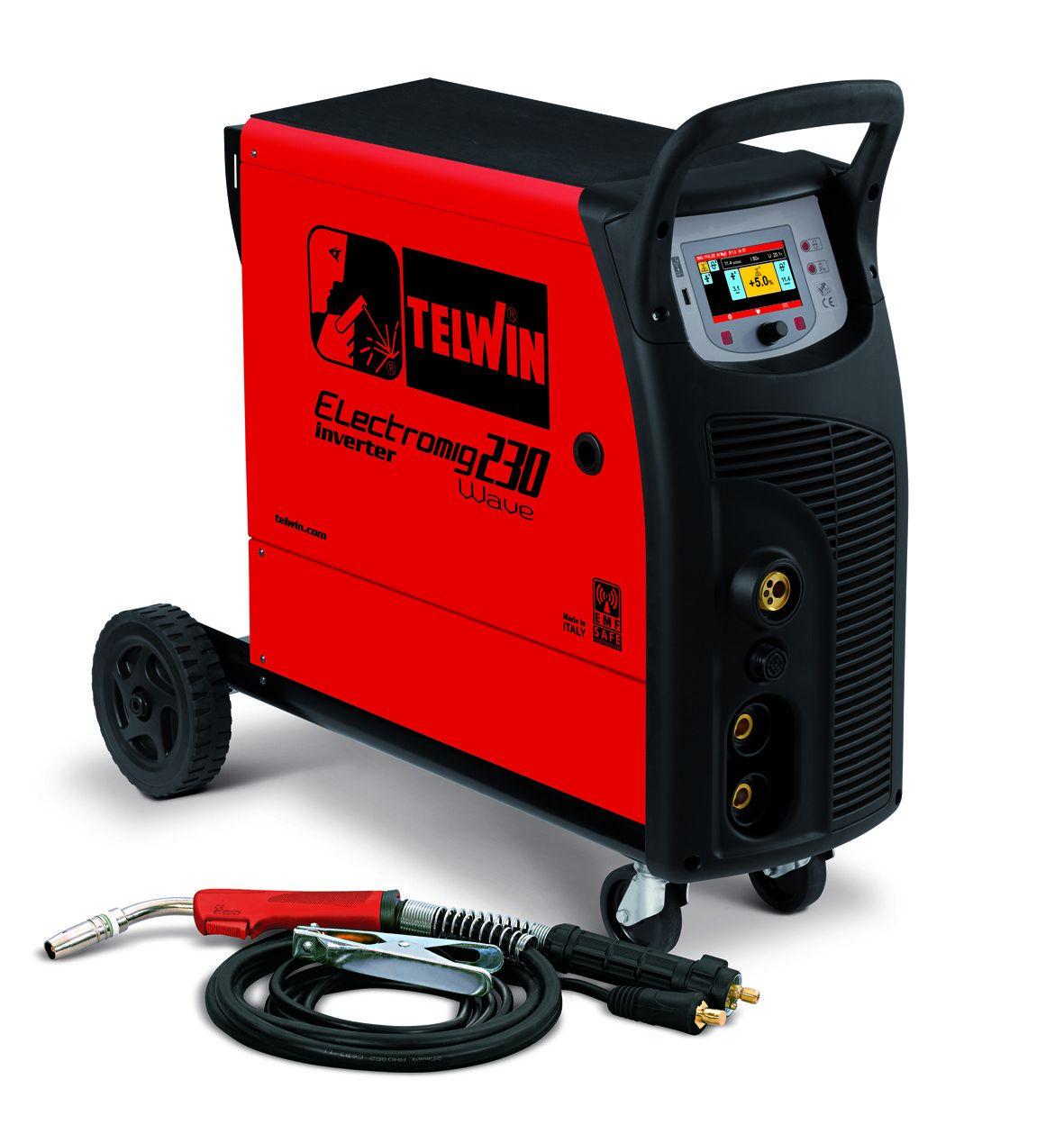 Сварочный полуавтомат ELECTROMIG 230 WAVE 400V