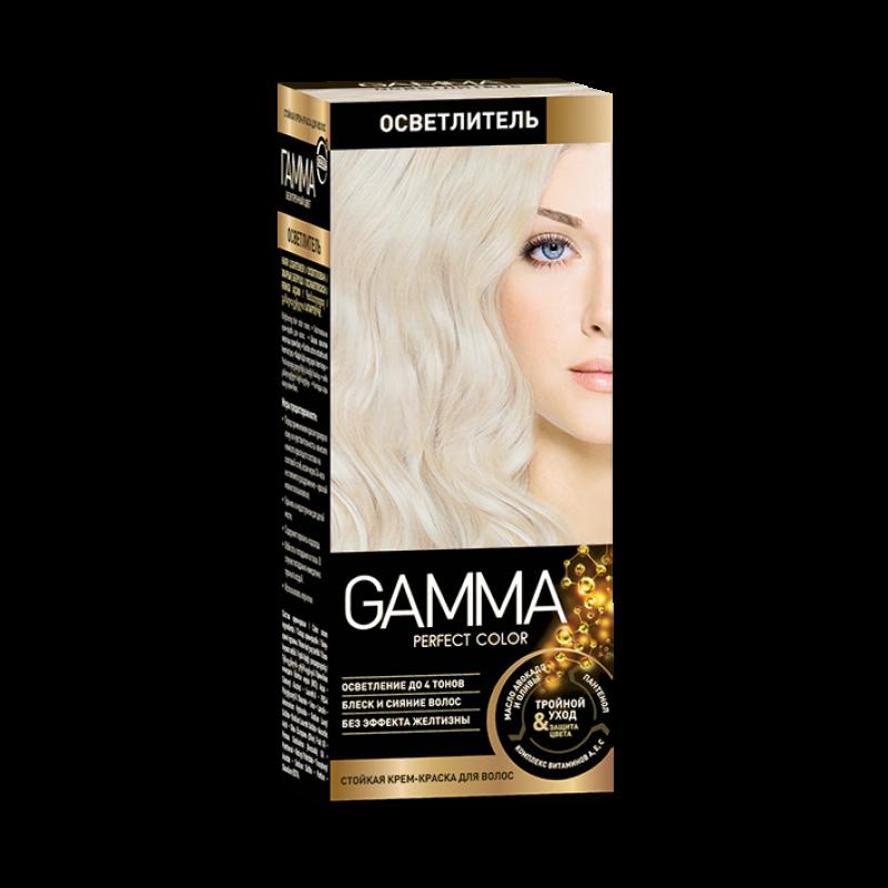 Краска для волос Gamma осветляющая