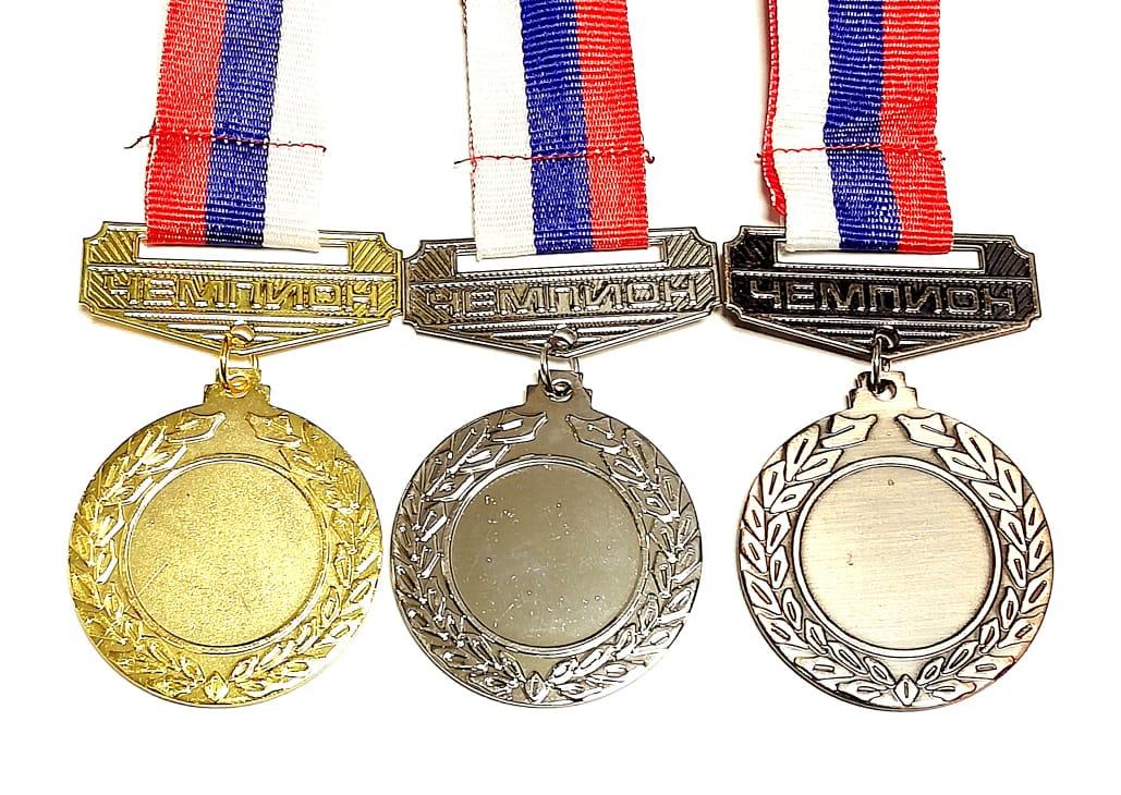Медаль наградная под нанесение 4.3 см