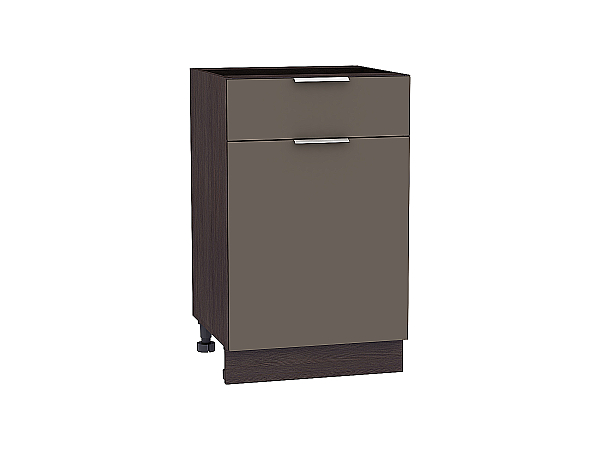 Шкаф нижний Терра Н501 (Смоки софт)