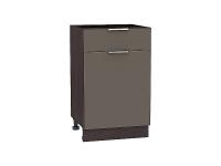 Шкаф нижний 1 ящиком и дверцей Терра Н501 (Смоки софт)