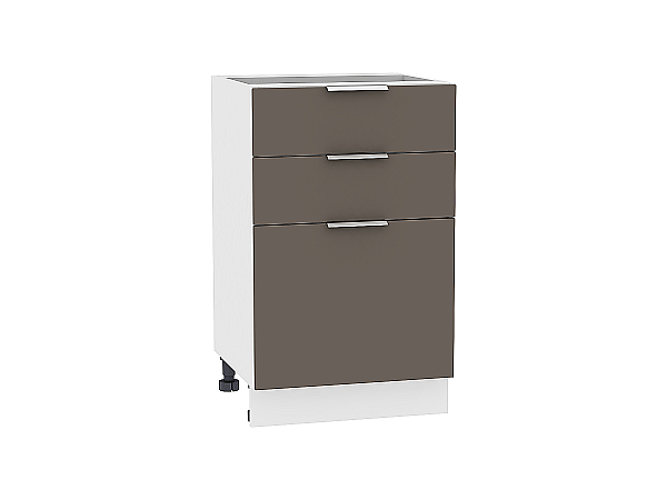 Шкаф нижний Терра Н503 (Смоки софт)
