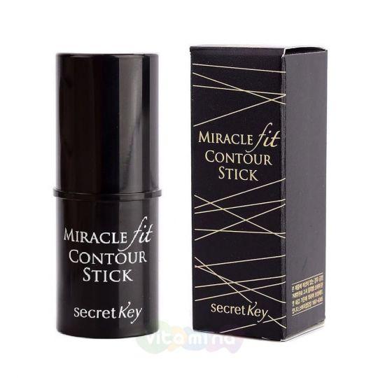 Secret Key Скульптурирующий стик-корректор для макияжа Miracle Fit Contour Stick