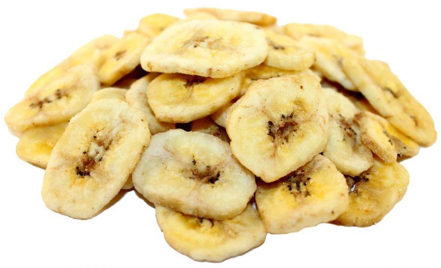 Банан сушеный (чипсы)