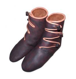 Ботинки из Хедебю с 3-мя пуговицами