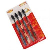 Бамбуковые зубные щетки GUANBO (ГУАНБО) комплект 4 шт (3)