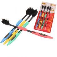 Бамбуковые зубные щетки GUANBO (ГУАНБО) комплект 4 шт (1)