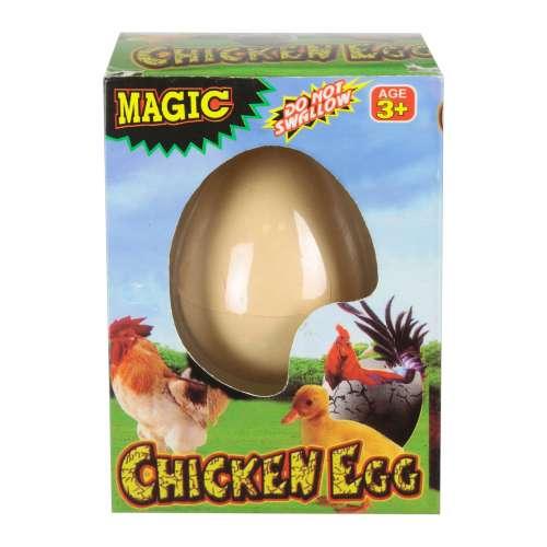 1toy растущее яйцо, пингвин и курица