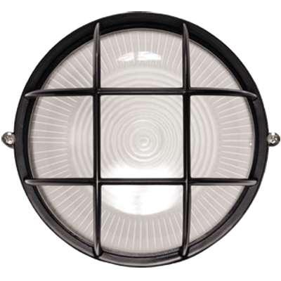 Светильник НПП 1302 60Вт E27 IP54 черный круг