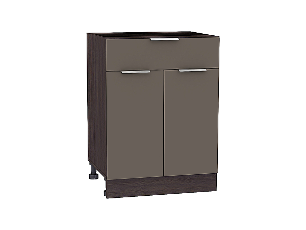 Шкаф нижний Терра Н601 (Смоки софт)