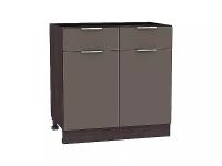 Шкаф нижний Терра Н801 (Смоки софт)