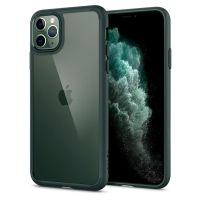 Чехол Spigen Ultra Hybrid для iPhone 11 Pro зеленый