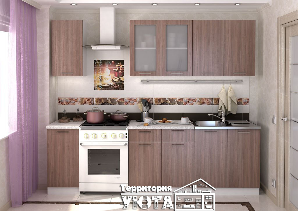 Кухонный гарнитур Дина 2,0м