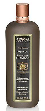 Лечебно-грязевой шампунь c аргановым маслом на основе грязи Мертвого моря Aroma Dead Sea (Арома Дэд Си) 380 мл