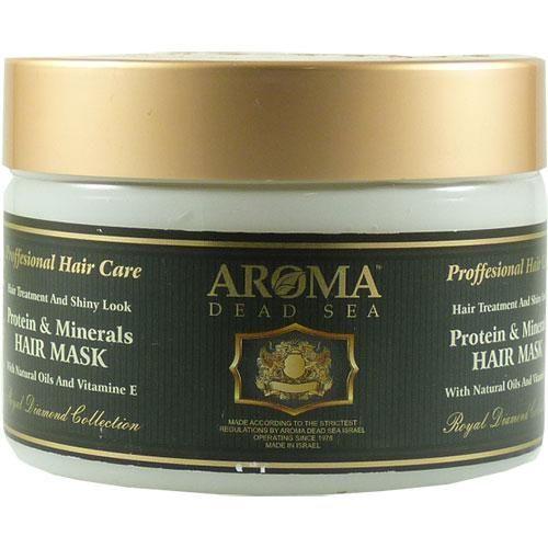 Маска для волос с протеинами и минералами Мертвого моря Aroma Dead Sea (Арома Дэд Си) 600 мл