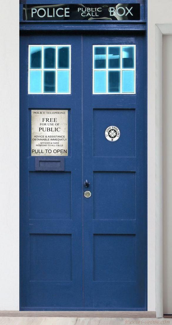 Панно на стену - Police Box