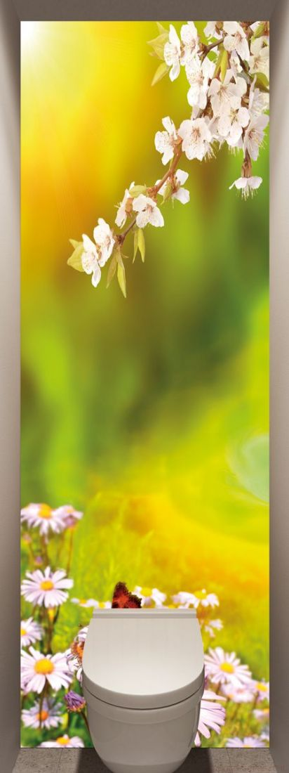 Фотообои в туалет - Весна