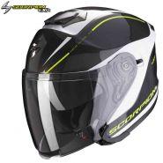Шлем Scorpion EXO-S1 Shadow, Черно-бело-желтый
