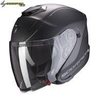 Шлем Scorpion EXO-S1 Shadow, Черный матовый с серебряным