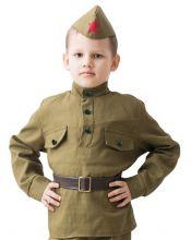 Костюм военный детский для мальчика Солдат, 5-7 лет