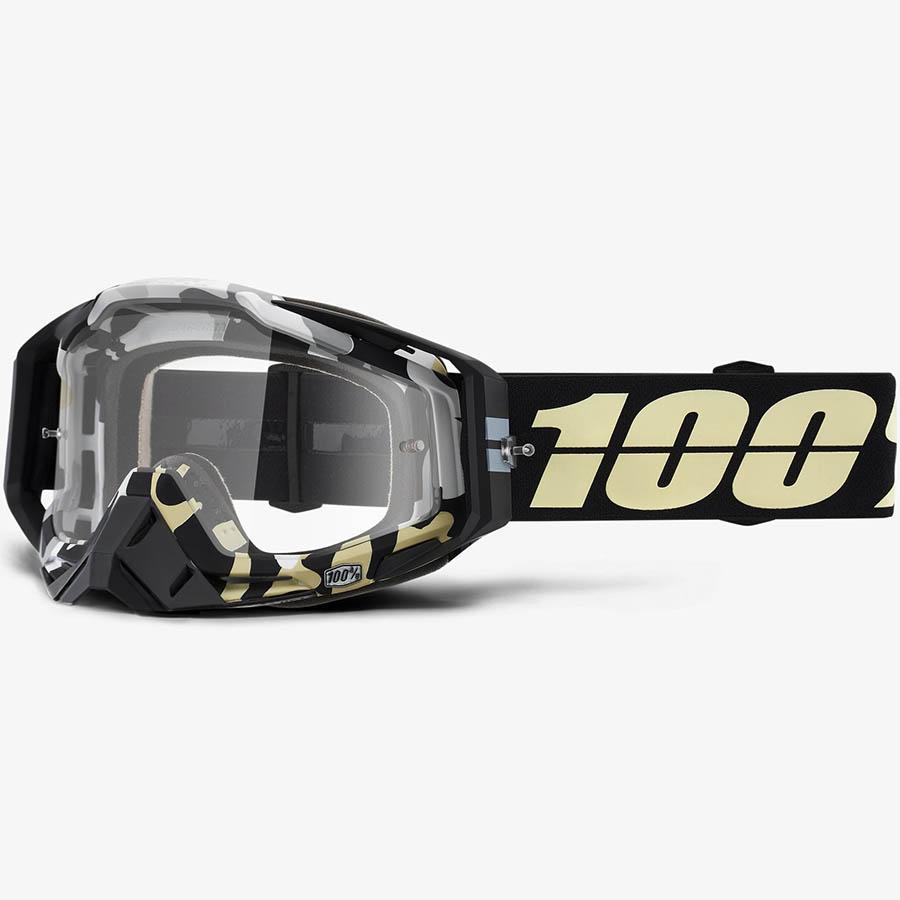 100% Racecraft Ergoflash Clear Lens, очки для мотокросса