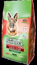 SIMBA DOG корм для взрослых собак, с говядиной, 10 кг