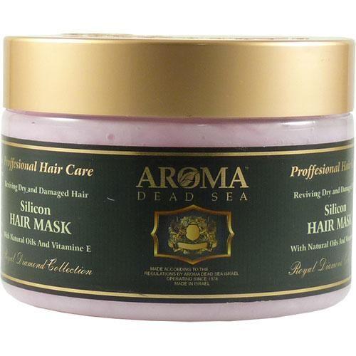 Силиконовая маска для окрашенных и поврежденных волос с витамином Е Aroma Dead Sea (Арома Дэд Си) 600 мл