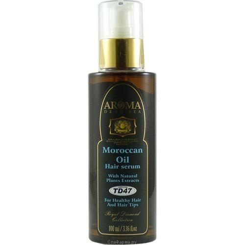 Аргановое масло - серум для волос (марокканское масло), Aroma Dead Sea (Арома Дэд Си) 100 мл