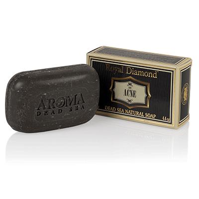 Антибактериальное мыло от акне (угревой сыпи) твердое Aroma Dead Sea (Арома Дэд Си) 110 г