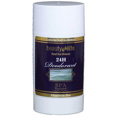 Прозрачный дезодорант-стик мужской антиаллергенный с витаминами А+Е, Beauty Life, Aroma Dead Sea (Арома Дэд Си) 50 мл
