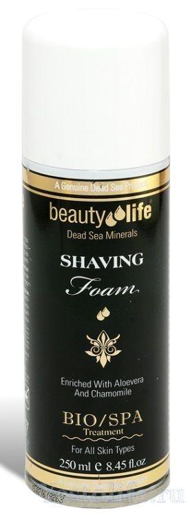 Пена для бритья Beauty Life, Aroma Dead Sea (Арома Дэд Си) 250 мл