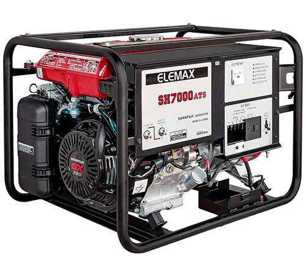 Бензиновый генератор Elemax SH 7000 ATS RAVS