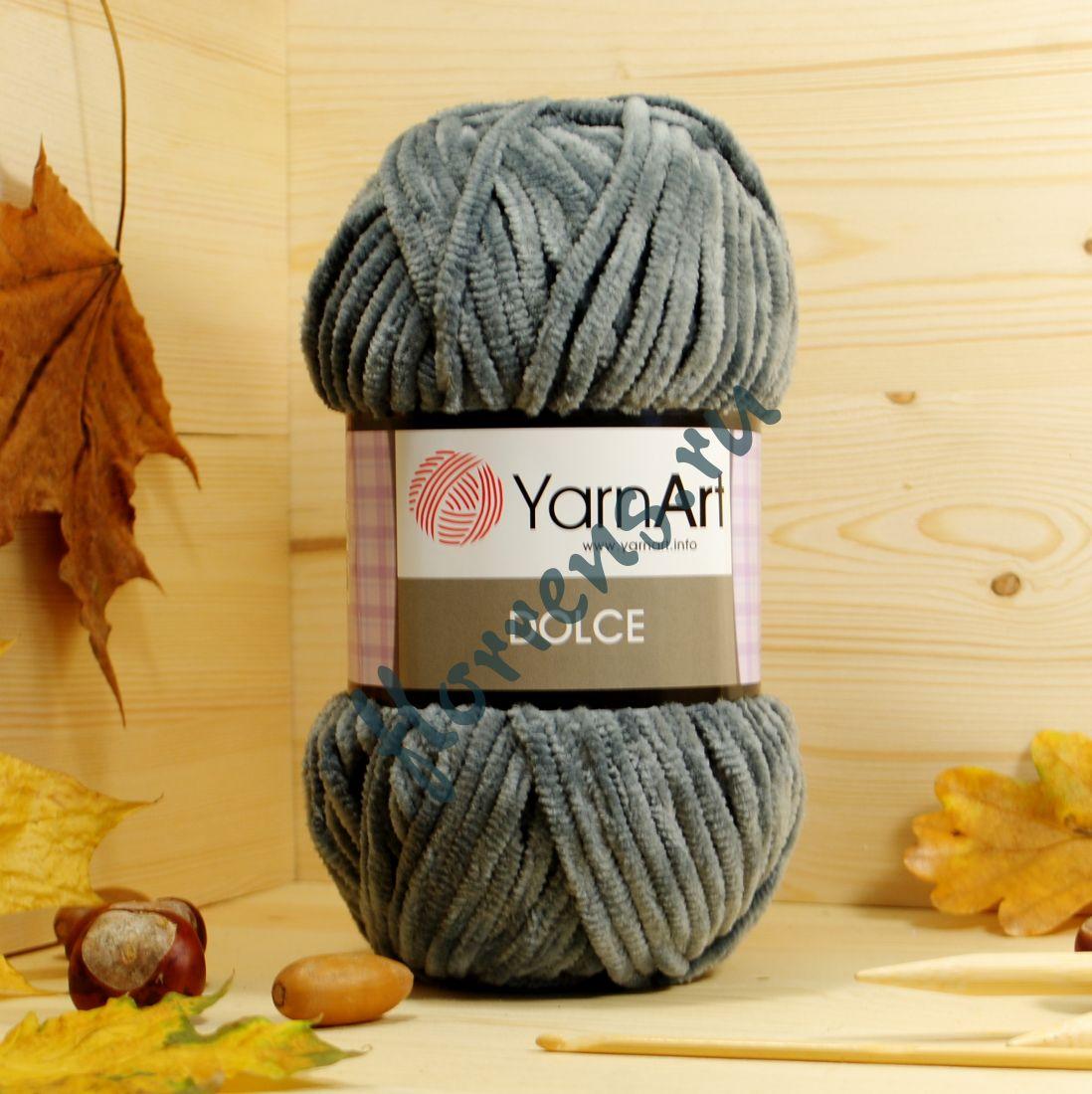 Пряжа YarnArt Dolce / 760 светло-серый