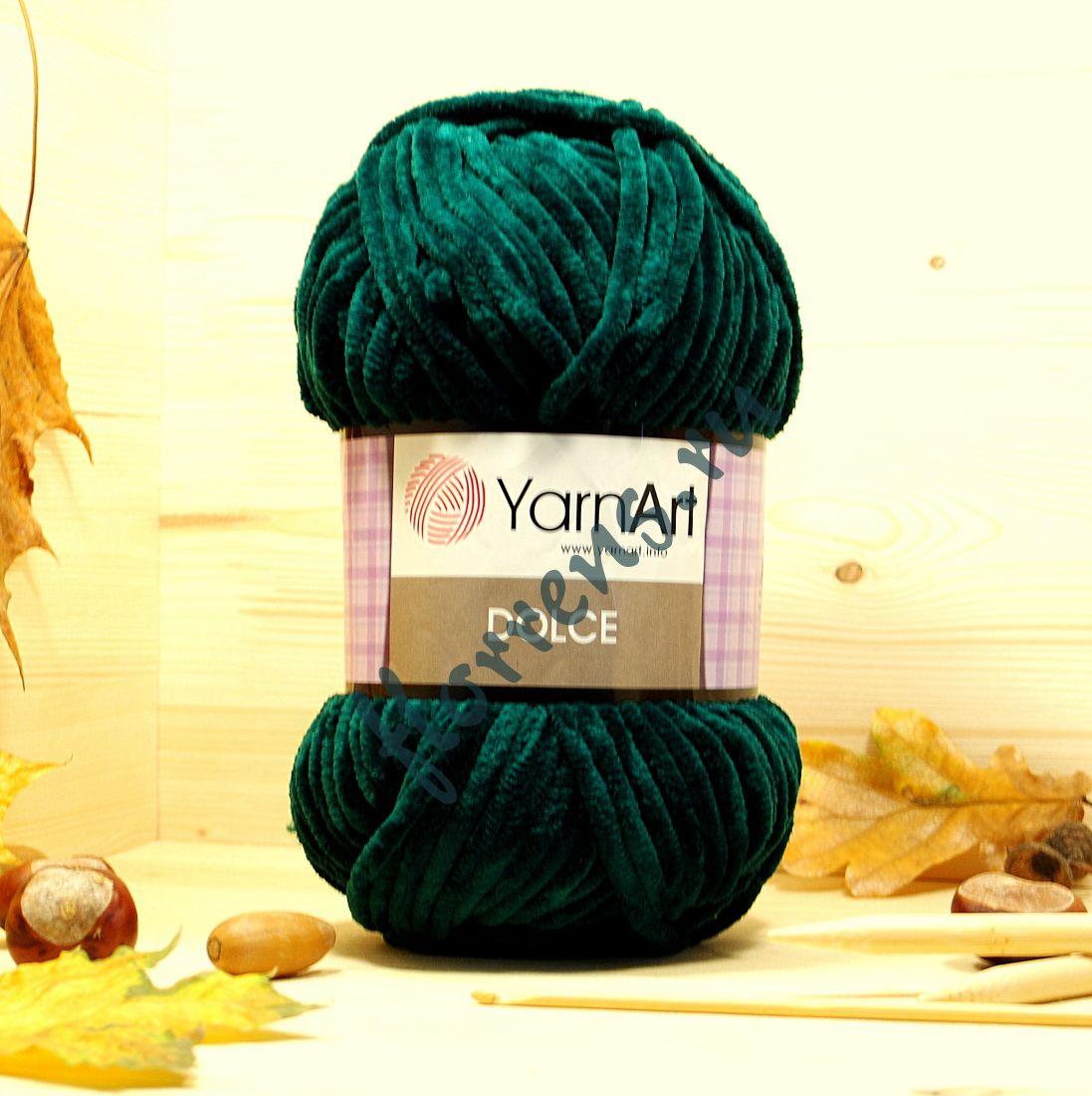 Пряжа YarnArt Dolce / 774 изумрудный