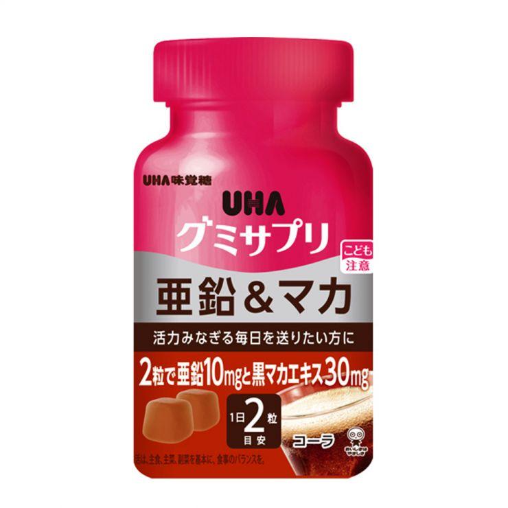 UHA Цинк и Мака со вкусом Колы, 30 дней