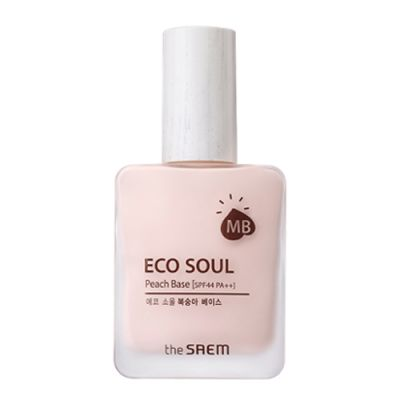 THE SAEM ECO SOUL База под макияж Eco Soul Peach Base 30мл