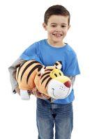 Купить Мягкая игрушка Вывернушка 2 в 1 - Тигр-Слон, 40 см  недорого