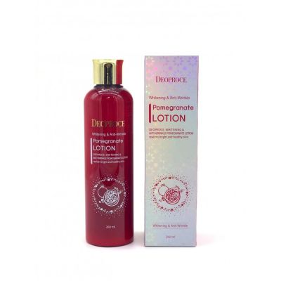 Лосьон для лица антивозрастной DEOPROCE WHITENING AND ANTI-WRINKLE POMEGRANATE LOTION 260мл