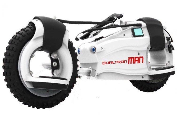 Электроборд DUALTRON MAN EX Белый