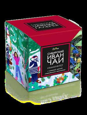 Иван-Чай листовой Bionergy «ИММУНИТЕТ» с клюквой, мятой, смородиной и васильком