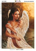 В-458 Фея Вышивки. Ангельская Девушка. А3 (набор 725 рублей)