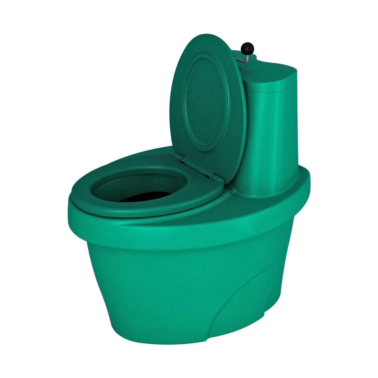Туалет торфяной зеленый