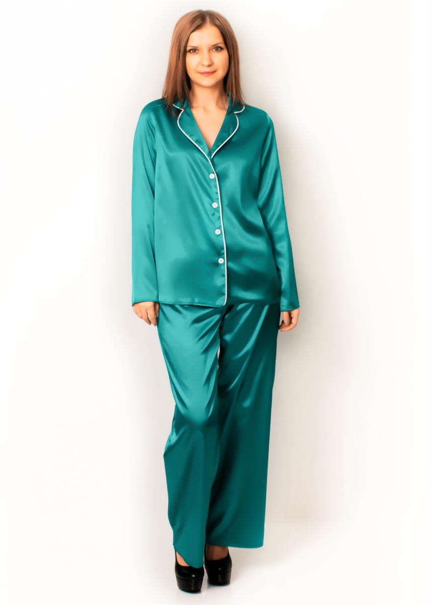 Пижама - Лантана (бирюзовый)